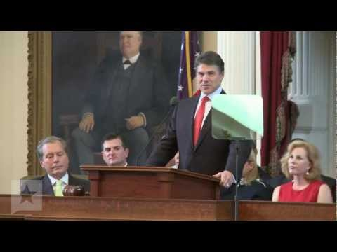 Governor Rick Perry: State of the State Address