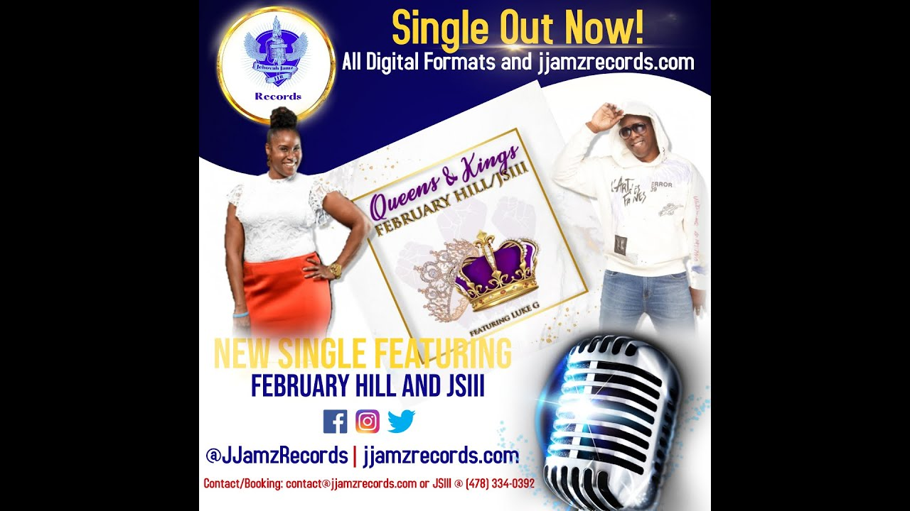 """DOWNLOAD: February Hill x JSIII x Luke G """"Queens & Kings"""" official music video Mp4 song"""