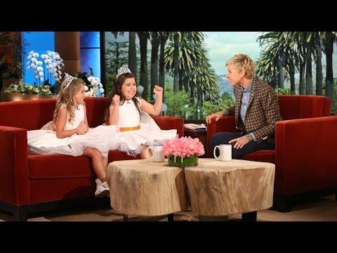 Sophia Grace & Rosie Return to Ellen!