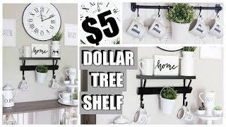 $5 DOLLAR TREE CRAFTS - FARMHOUSE SHELVES