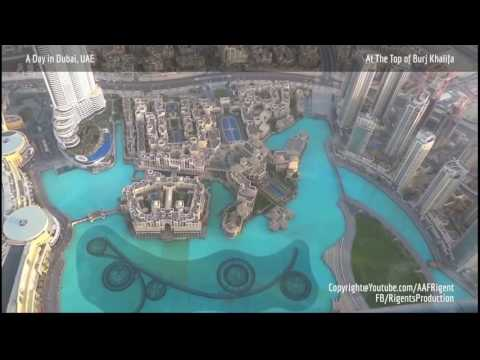 A Day in Dubai, UAE - Stopping by many attractions