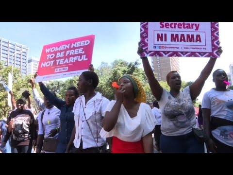 Manifestation contre les viols présumés à l'hôpital de Nairobi
