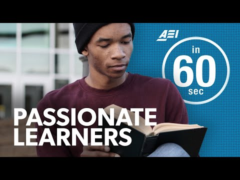 Encouraging passionate learners | IN 60 SECONDS
