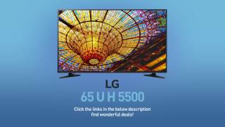 LG 65UH5500 4K UHD Smart LED TV - 65