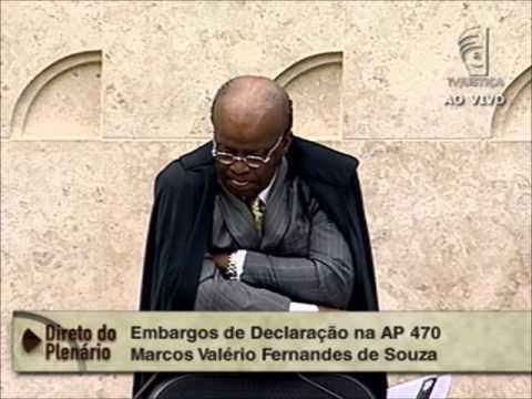 Pleno - Julgamento dos embargos da AP 470 de Marcos Valério, Genoino e Pedro Henry