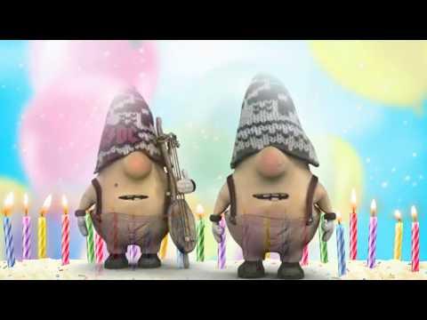Поздравление с днем рождения   новинка 2019 для девушки