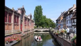 Le Quartier de la Petite Venise  à Colmar en Alsace