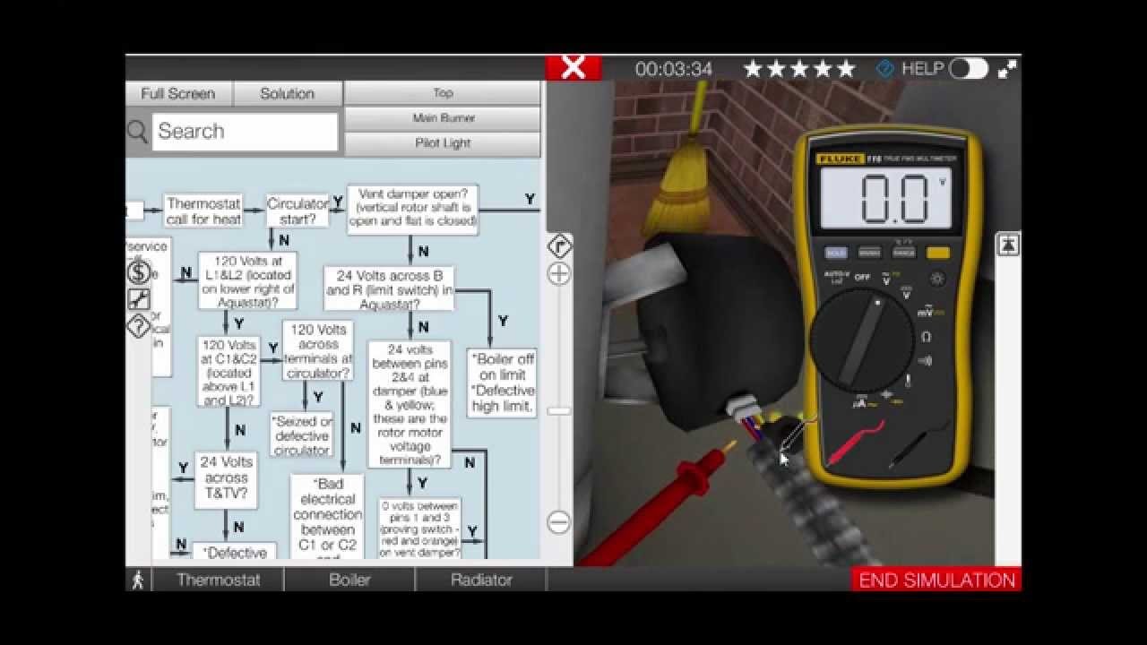 hight resolution of gas boiler vent damper troubleshooting video