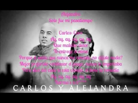 Carlos y alejandra melodia de amor lyrics