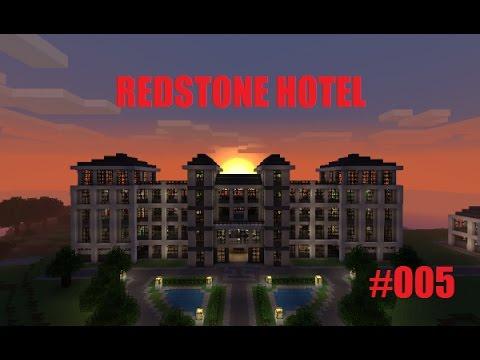 Die Lobby und die Treppe steht!!! | Redstone Hotel #005 || Tactical Gamer
