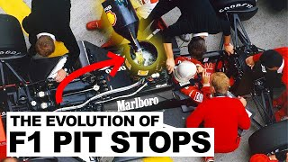 The Spectacular Evolution of F1 Pit Stops