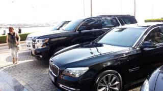 Super cars Burj Al Arab Dubai. 03.01.2015