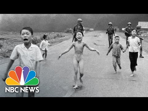 How Nick Ut's Photo 'Napalm Girl' Changed The Vietnam War | NBC News