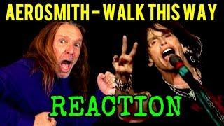 Vocal Coach Reaction to Aerosmith - Steven Tyler - Walk This Way - Live - Ken Tamplin