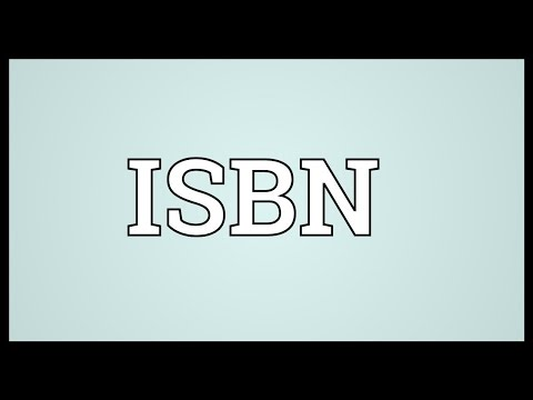 ISBN Meaning
