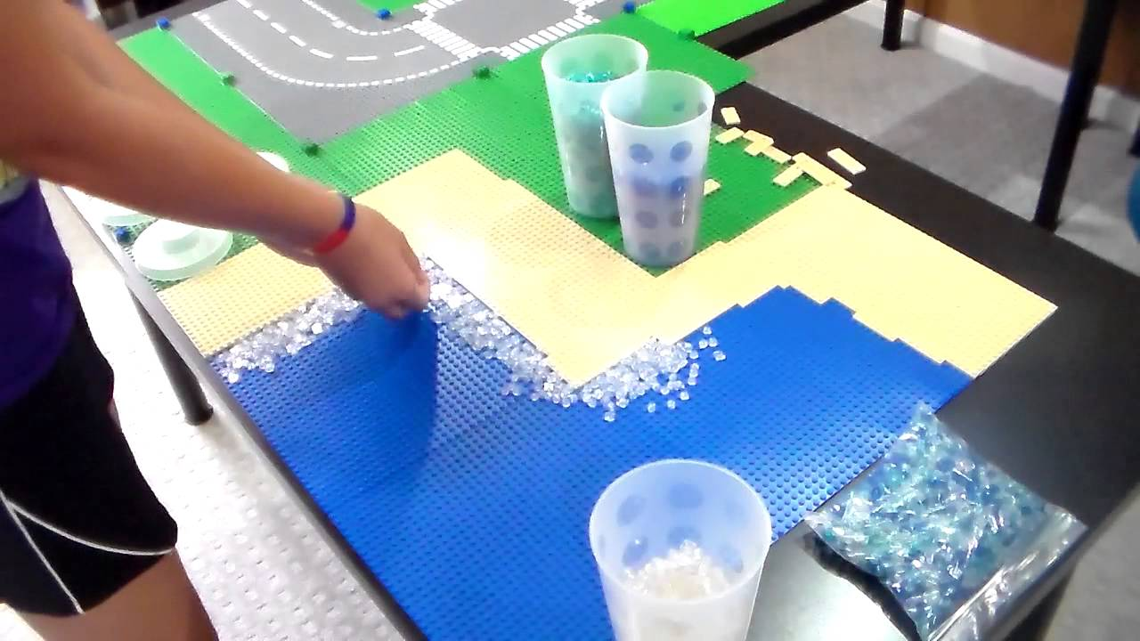 How To Make Cool Lego Water Youtube