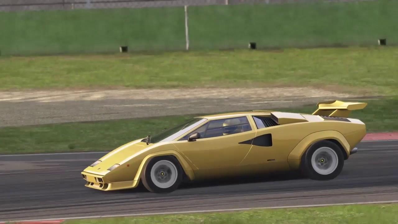 Special Event Lamborghini Countach Imola Gold Medal Youtube