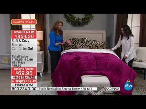 HSN | Concierge Collection Bedding 10.26.2016 - 01 AM