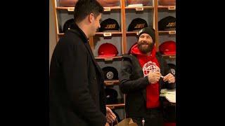 Julian Edelman opens pop up shop in Boston