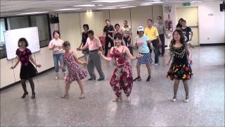 Sambalero (Dancing Heart) (by Ira Weisburd) - line dance (demo & walk through) = 舞動的心 - 排舞(含導跳)
