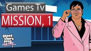 Grand Theft Auto - Vice City-Mission 1 Hd