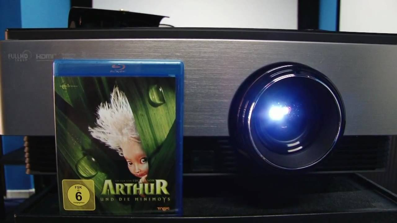 3D LG Projektor CF