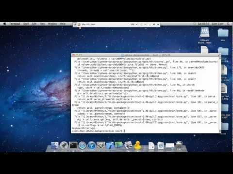 iPhone passcode bypass