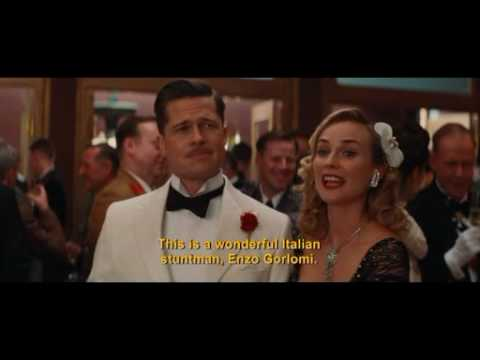 Speaking Italian - Funny Inglourious Basterds scene - YouTube