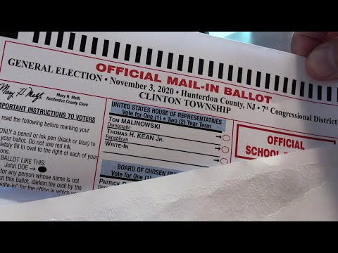 Watch how your voter ballot is processed and counted this year