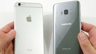 iPhone 6S Plus vs Galaxy S8 Plus! - Speed Test