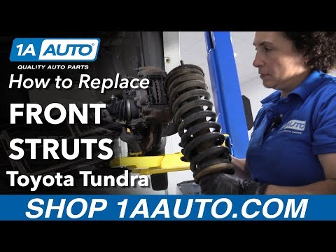 How to Replace Front Struts 00-06 Toyota Tundra