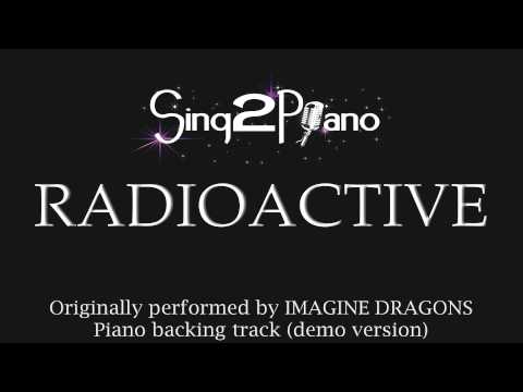 Radioactive (Piano Backing Track) Imagine Dragons