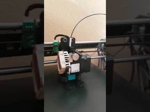 Anycubic i3 Mega X axis cable chain by Pablo Muñoz