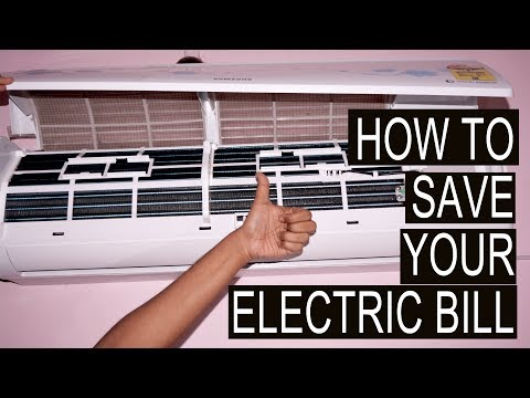 How to Save AC Electricity Bill |  How To Save Electricity In AC