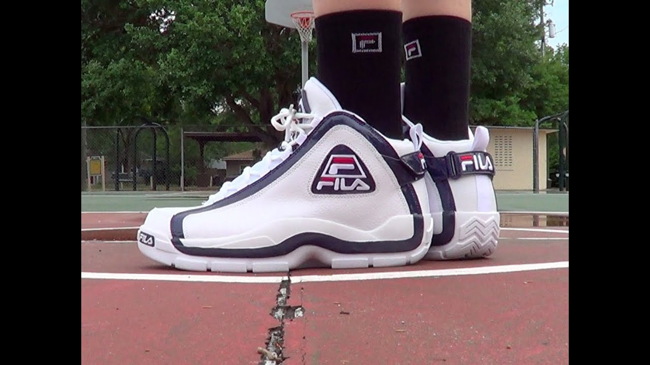 50% price various design lowest discount Fila Grant Hill 2 ON FEET Review - YouTube
