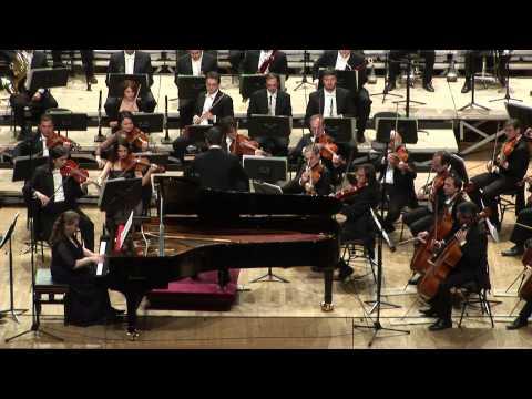 """Nicola Campogrande,  """"R  (Un ritratto per pianoforte e orchestra)"""" - Lilya Zilberstein"""