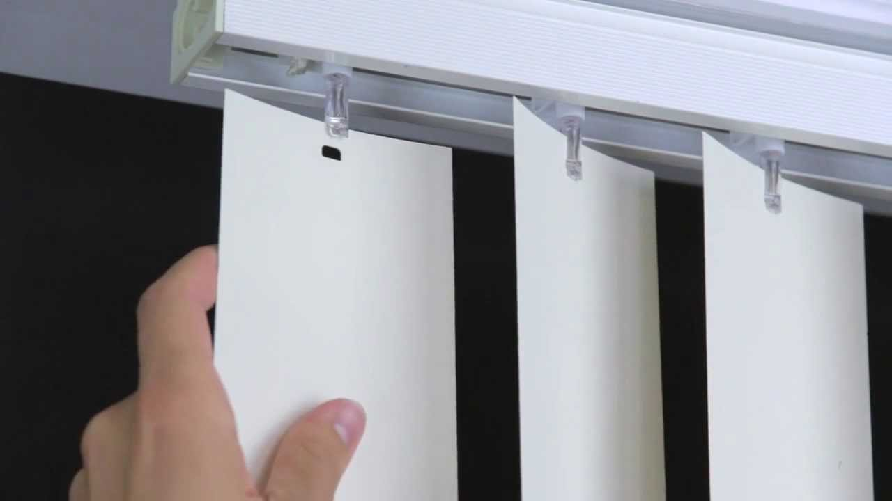 How to hang the blinds