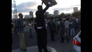 הפגנה בתל אביב - מחאת עולי אתיופיה כנגד אלימות המשטרה