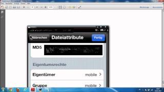 Siri Installation iPhone 4 / Ipod Touch 4G (Installation mit Bildern) .wmv