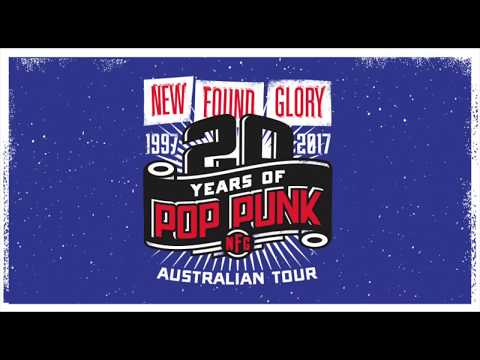 New Found Glory - 20 Years Tour - The Gov, Adelaide, Australia - 9 August 2017