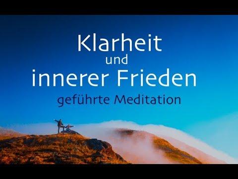 Klarheit und innerer Frieden - geführte Meditation