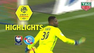 SM Caen - RC Strasbourg Alsace ( 0-0 ) - Highlights - (SMC - RCSA) / 2018-19