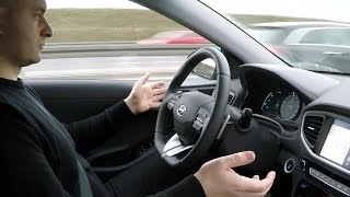 Hyundai IONIQ: LKAS (Lane Departure Warning System with Lane Keep Assist) - test :: [1001cars]