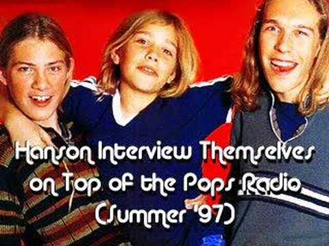 Hanson on Top of the Pops Radio