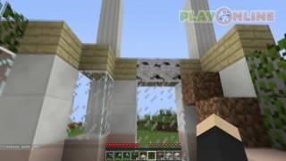 Как построить красивый дом в Minecrafte? (Видеоурок)