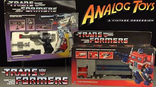The Origin of Transformers - Corporate Greed In Disguise - Generation 1 Vintage Hasbro Toy Review