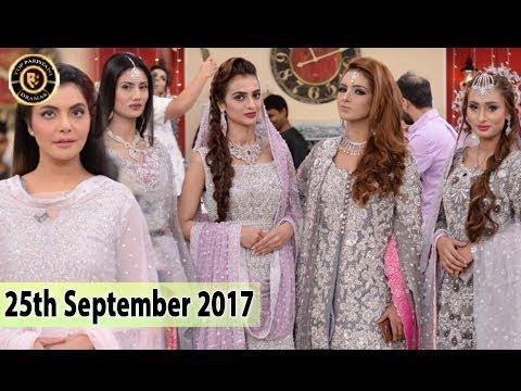 Good Morning Pakistan - 25th September 2017 - Top Pakistani show