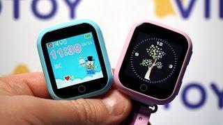 watch Baby GPS Q100 детские смарт часы замена сенсора, стекла, разборка --- СЦ