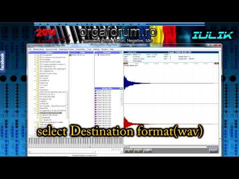 Tutorial VST conversion WAV file