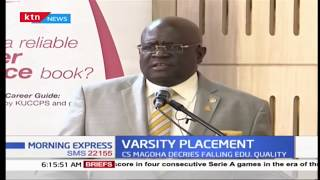 107 degree courses set to be scrapped as CS Magoha proposes reforms in universities